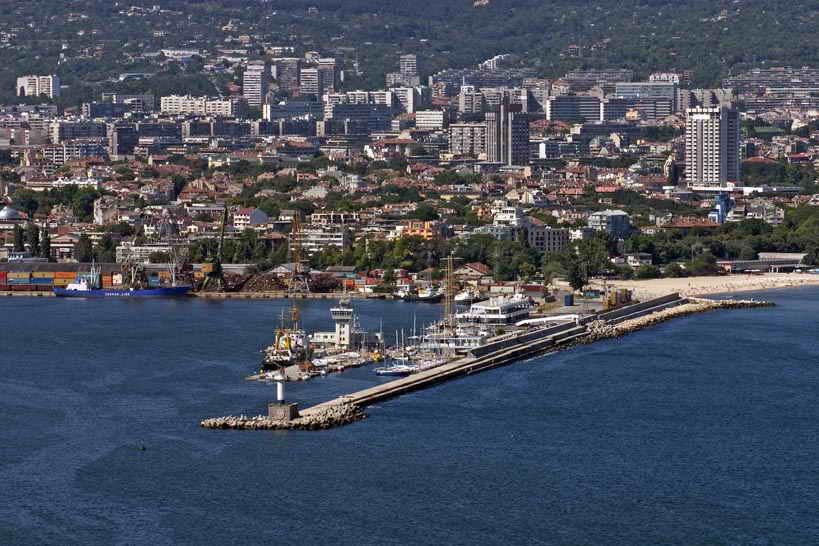 Пристанището Varna_pristanishte