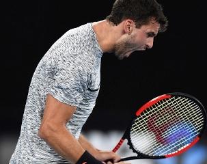 Григор Димитров се класира за осминафиналите на Australian Open след