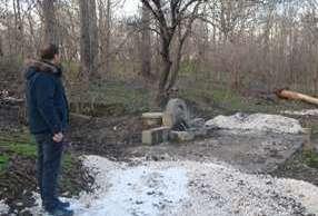 Още една пресъхнала чешма в Девня бликна по инициатива на