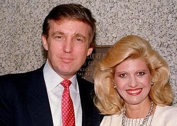 Доналд Тръмп изнасилил бившата си съпруга Ивана под въздействието на