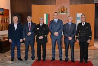 Кметът на Варна Иван Портних проведе работна среща с организаторите