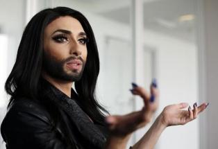 """Победителката в конкурса """"Евровизия 2014"""" – """"брадатата жена"""" Кончита Вурст,"""