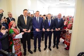 Новата сграда на Колежа по туризъм към Икономическия университет във