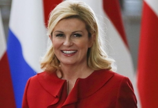Станала популярна покрай Мондиала в Русия хърватска президентка Колинда Грабар-Китарович