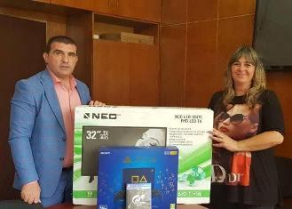 Снимка: Община Девня подари телевизори и плейстейшъни на 4 читалища